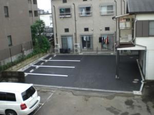 K様邸駐車場新設アスファルト舗装工事
