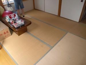 横浜市F様邸フローリング張り替え・間仕切り工事