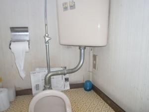 横浜市W様邸階段カーペット張替・トイレリフォーム工事 トイレ施工前