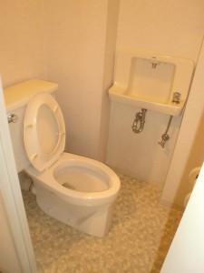 相模原市T様邸 マンションのリフォーム リフォーム前のトイレ