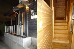 東京都M様邸 二世帯住宅玄関リフォーム