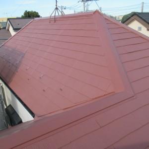 調布市S様邸 屋根塗り替えリフォーム工事