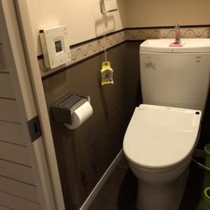 横浜市S様邸 マンション和室床フローリング張り&トイレリフォーム工事