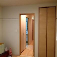 東京都M様邸 戸建て住宅洋室ドア・壁・天井リフォーム工事