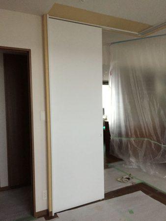 東京都町田市 新築マンション間仕切り変更工事