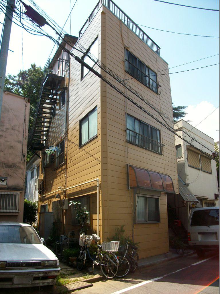 東京都Y様邸 重量鉄骨階段交換・外壁塗替え・屋上防水・内部各工事