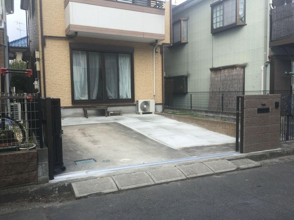 神奈川県相模原市S様邸 エクステリア工事