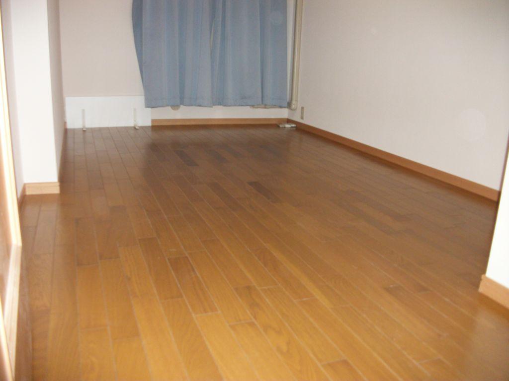 洋室全部屋~床、フローリング遮音性能Lー45へ張替え